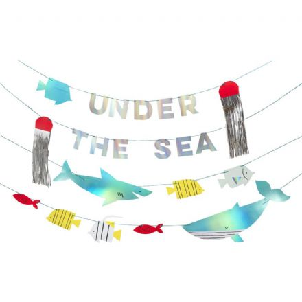 Under The Sea Party Garland